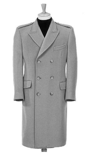 Double Breasted 3 Buttons Show 3 Overcoat